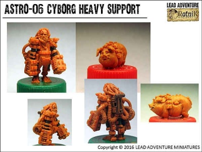 Cyborg Heavy Support (2)