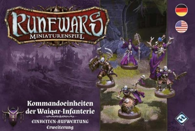Runewars - Kommandoeinheit der Waiqar