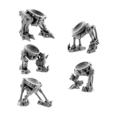 Ork Cyborg Bits Bionic Legs T2 (5)