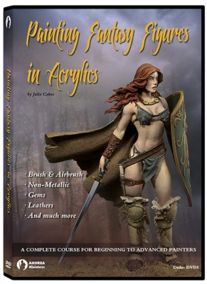 Painting Fantasy Figures In Acrylics DVD