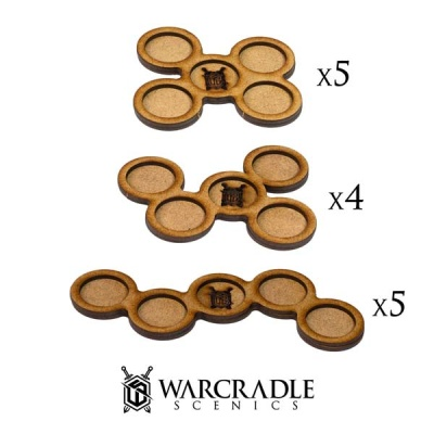 Skirmish Movement Trays - 20mm (14)