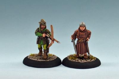 Robin Hood & Frrair Tuck