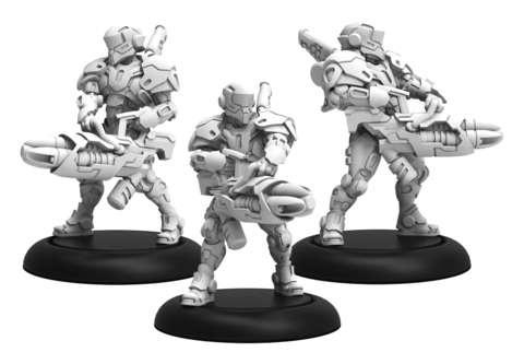 Paladin Annihilators - Warcaster Iron Star Alliance Squad