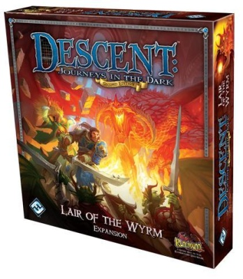 Descent: Lair of the Wyrm (Second Edition) (engl.)
