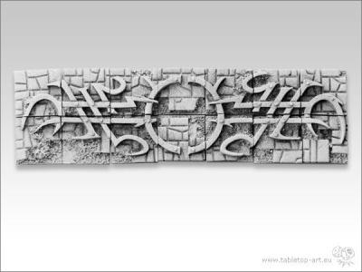 Tribals Stonefloor, 20x20mm Infanterie Diorama