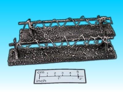 Geländestück Stacheldrahtsperre (2)