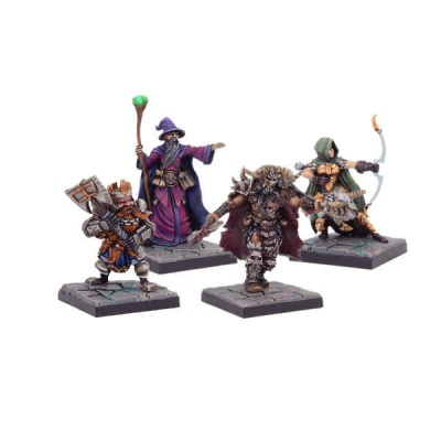 Legendary Heroes of Dolgarth Miniatures Set (4)