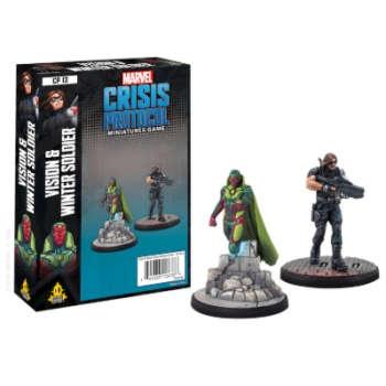 Marvel Crisis Protocol: Vision and Winter Soldier - EN