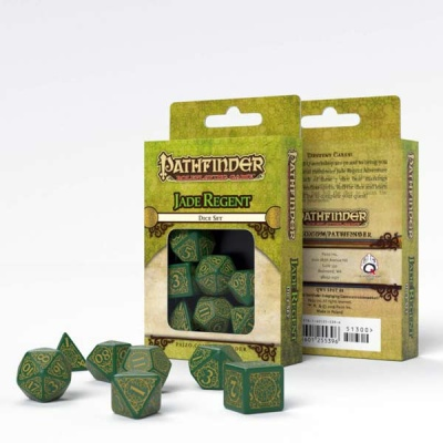Pathfinder Jade Regent Dice Set (7)