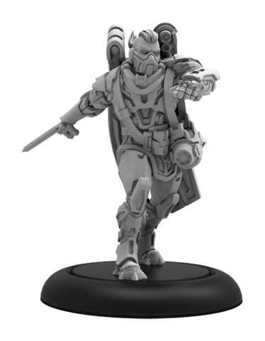 Voitek Sudal, Bounty Hunter - Warcaster Wild Card Hero Solo