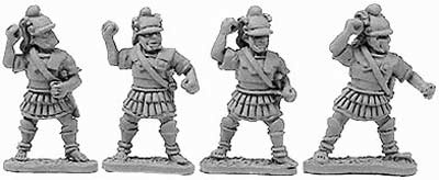 Macedonian Hypaspists (random 8 of 4 designs)