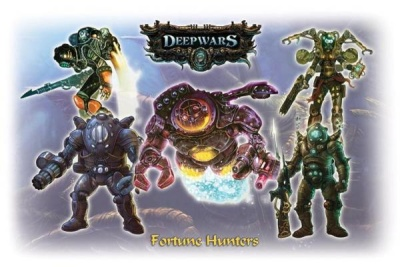 Deep Wars Deluxe Starter: Fortune Hunters (5)
