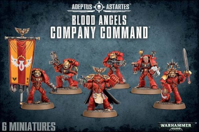 Blood Angels Command Squad (MO)