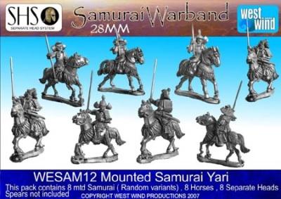 Mtd Samurai Yari (8 Figures)