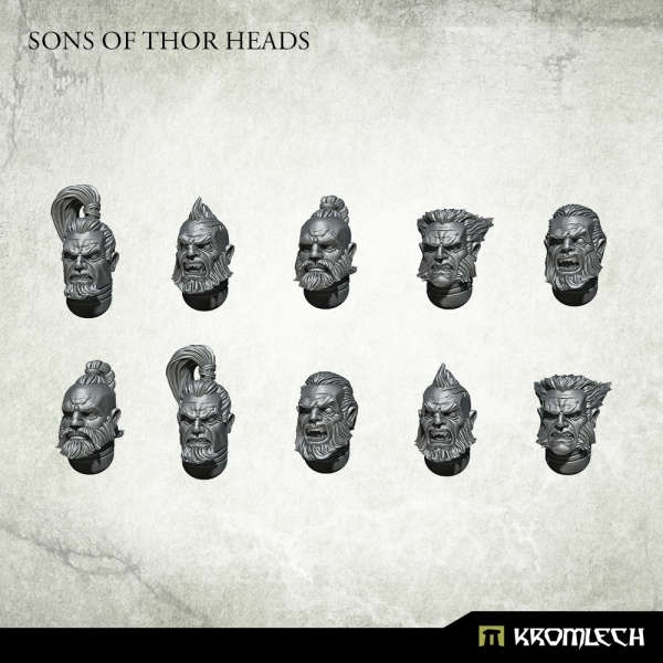 Sons of Thor Heads (10)