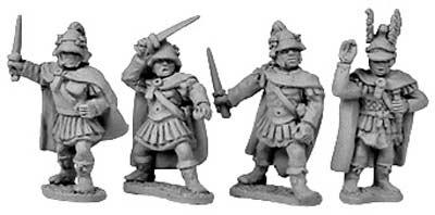 Macedonian Generals & Companions on foot