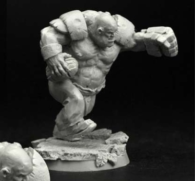 28mm/30mm Ogre Football Player #4
