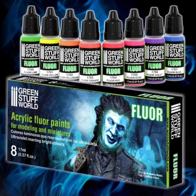 Fluor Paints Set (8)