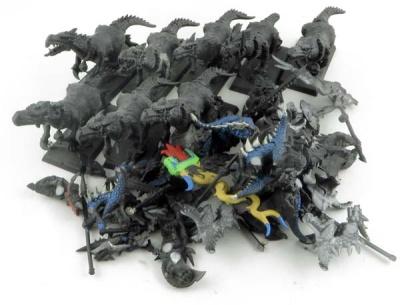 WHFANTASY: Sauruskrieger auf Echsen (8)