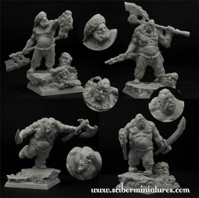Ogre Cossack set (4)
