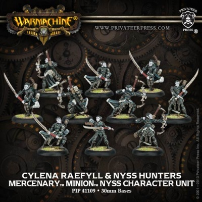 Mercenary Cylena Raefyll & Nyss Hunters Unit (10)