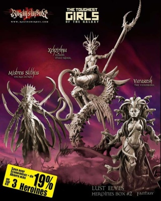 Heroines Box Lust Elves 2 (Fantasy)