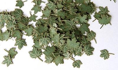 Laub: Ahornblätter grün (1:35)