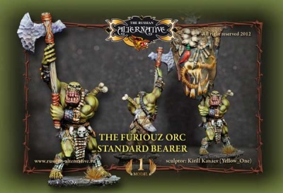 The Furiouz Orc Standard Bearer (1)
