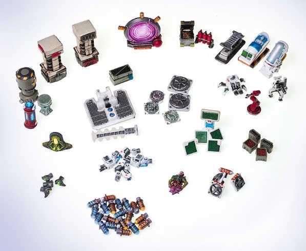 Dungeons & Lasers: Sci-Fi Customization Bits