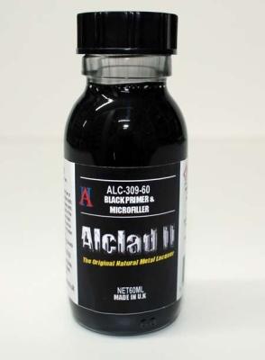 Alclad II Black Primer & Microfiller (60ml)
