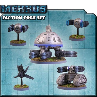 Counterblast Adventure Battle Game Mekkus Faction Core Set