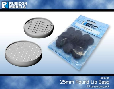 25mm Round Base (pack of 25 bases)