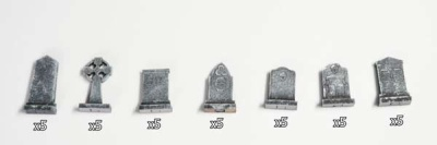 Gravestones (x35)