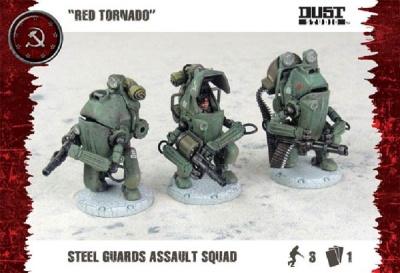 """Steel Guard Heavy Troop """"Red Tornado"""" (3)"""
