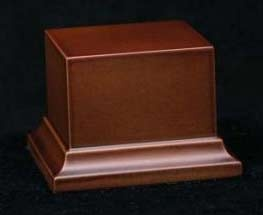 Wooden Base Brown, 58x58x50mm