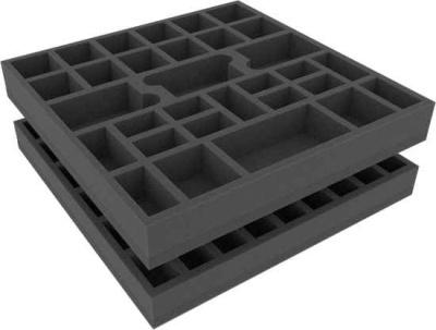 Schaumstoffeinlage für Zombicide Staffel 1 Grundspiel Box