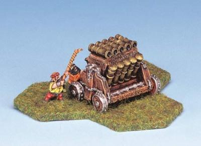 Bullet-Hailer Multi barrel cannon w/crew