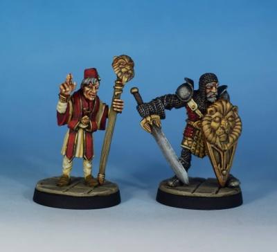 Old Cornelius & Holomir Goldheart