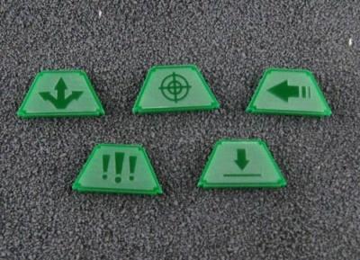 Infanterie Marker (grün)