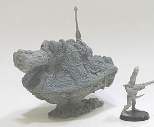 Alien Schwebepanzer mit Bio Kanone