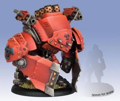 Khador Warjack -Demolisher/Devastator/Spriggan Box (plastic)