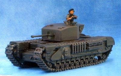 Churchill MK III, IV, V, VI Gun Tank