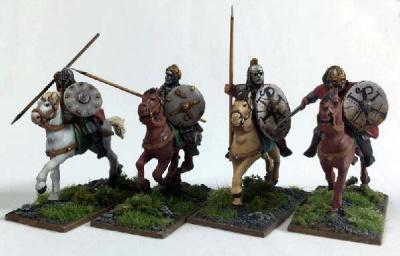 Briton Commanipulares (Hearthguard) (Mounted) (4)