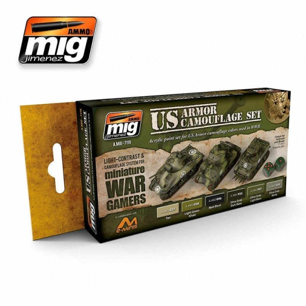 Wargame-US-Armor-Set