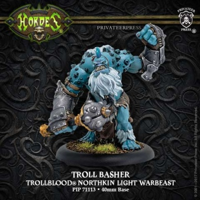 Trollblood Troll Basher Light Warbeast