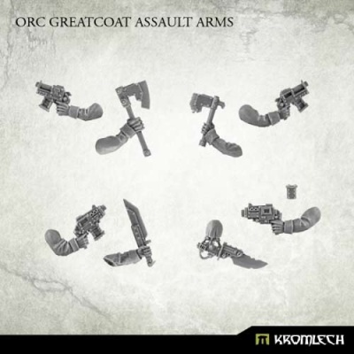 Orc Greatcoat Assault Arms (10)
