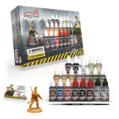 Zombicide 2nd ed. Paint Set