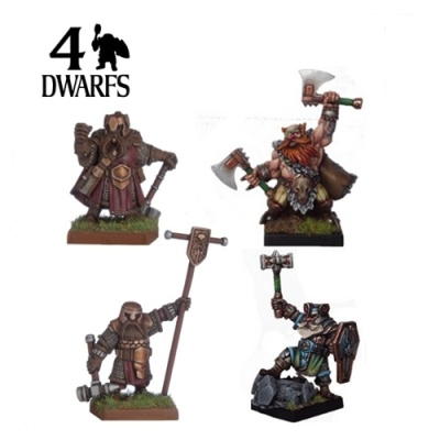 Dwarf Kings War Counsel (4)