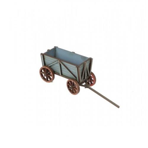 Russian Village - Wooden Cart