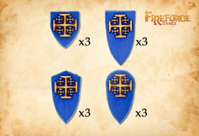 The Order of Jerusalem Shields (12)